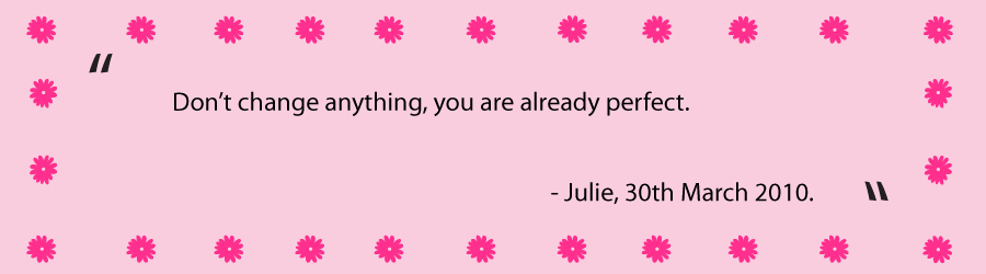 Quote From Julie