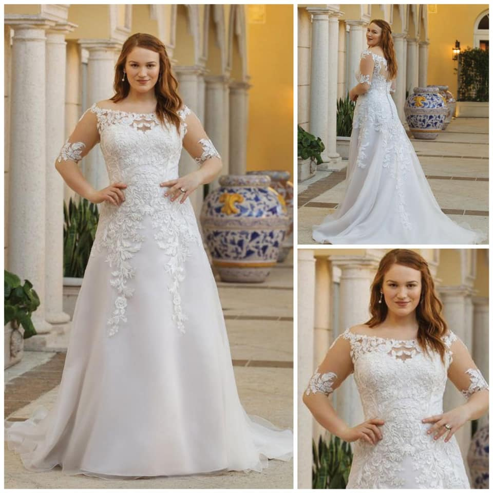 Sinceryity Plus Size Gowns